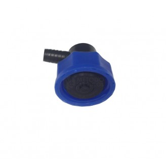 "CONNECTOR, SCHOLLE #1910L BLUE FOR 3/8"" ID TUBE"